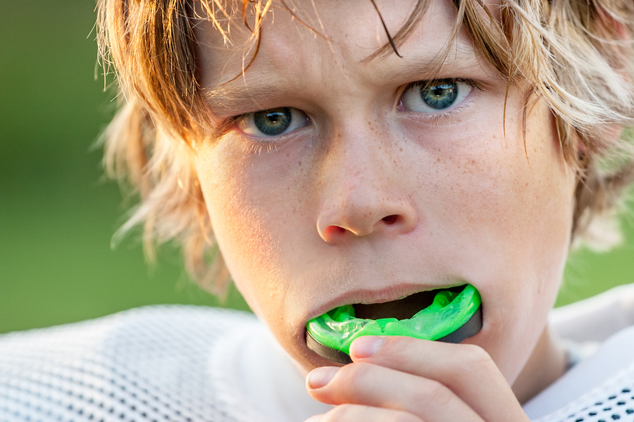 mouthguard, pediatric dentist, rochester hills