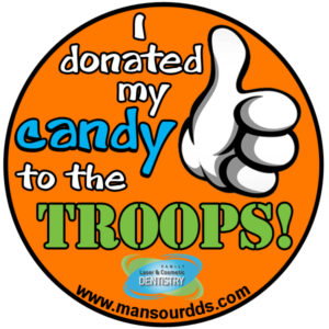 Metro Detroit Dentist Halloween candy bu back program