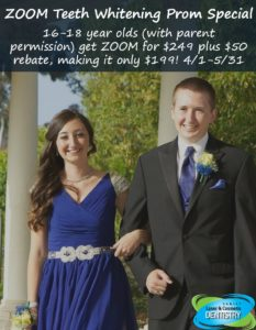 prom special, family laser & cosmetic dentistry