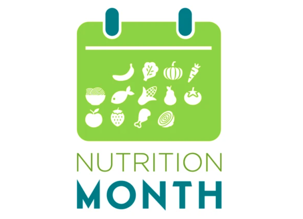 nutrition, national nutrition month, dental health, healthy eating