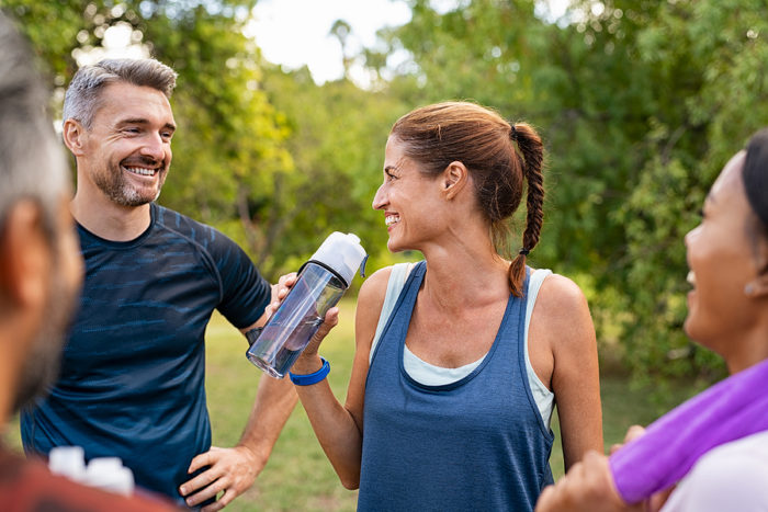 hydrate, staying active, exercise, dental health, Rochester Hills